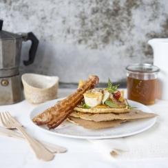 Pancakes z różnymi dodatkami